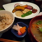 米の子 - 旬菜ステーキ定食