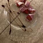 ワイン酒場 SUI de vin - 生ハム➕苺➕バルサミコ酢。良い口直しになります