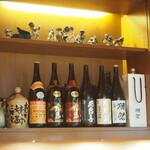 西田鮨 - お酒のラインナップ