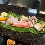 西田鮨 - お造り盛り合わせ