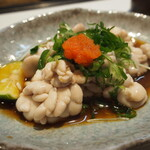 西田鮨 - 鱈白子ポン酢