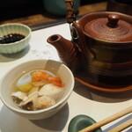 西田鮨 - 土瓶蒸し