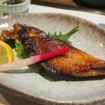 西田鮨 - シマアジ柚庵焼き