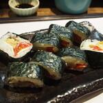 西田鮨 - トマト巻