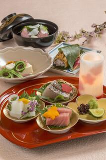日本料理 瀬戸内 - 3-4月さくら会席