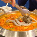 韓国料理 benibeni - 手長タコまるまる一匹投入〜(*≧∀≦*)