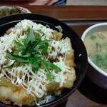 豊後茶屋  - 鶏天丼定食