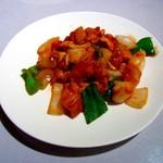 皇都 - 鶏肉とカシューナッツの炒めもの