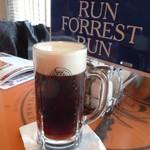 ババ・ガンプ・シュリンプ - まずはHalf & Half M(500ml)の Draft Beer