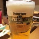 とりひめ - 生ビール