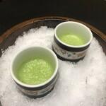 125893383 - 小松菜の野菜ジュース