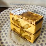 125893847 - ⚫︎ミルフィーユ(林檎) 絶対に食べたいモンプリュのざっくりパイ!!(๑>◡<๑)