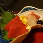 天近 - 天ぷら膳のお造り
