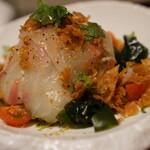 天近 - 湧水の鯛サラダ