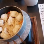 Ganyuutei - アナゴ釜飯