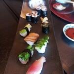 Ganyuutei - 野菜の寿司