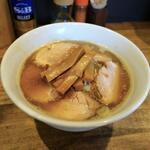 煮干し中華そば 一剣 - 料理写真:「中華そば」にメンマを追加