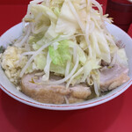 ラーメン二郎  - 野菜増し