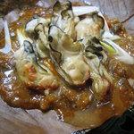 1259552 - 牡蠣のほう葉味噌焼き