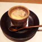 12590202 - 蛤と毛がにの茶碗蒸し