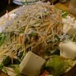 木場場外市場 まぐろ祭 - サラダ (飲放宴会コース4000円)