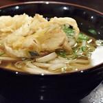 吉祥寺麺通団 - かきあげ