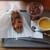 食肉加工屋 フチテイ - ホットドックセット