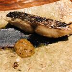 125902883 - 三重県鳥羽の寒鰆 体脂肪率15% 蕗の薹と白味噌