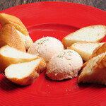 イタリアン食堂酒場 アバンティ - サーモンとクリームのディップ
