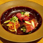 和牛焼肉 牛WAKA丸 - ☆本日の前菜3種(●^o^●)☆