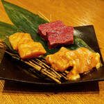 和牛焼肉 牛WAKA丸 - ☆タレ焼き3種(^◇^)☆