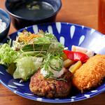 焼肉 YOKOHAMA 045  - ハンバーグランチ