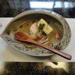 割烹 ひさご - 若竹豆腐と甘鯛