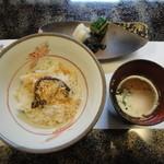 割烹 ひさご - 甘鯛と蕨の炊き込みご飯
