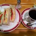 ポトロ - サンドイッチモーニングA