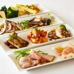マーノ・マッジョ - 料理写真:本日の前菜10種