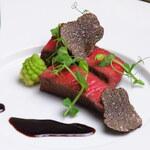 イタリアンレストラン ピーノ - 黒トリュフ 米沢牛フィレ肉のステーキ