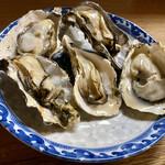 成田家 - 寄島産殻付牡蠣