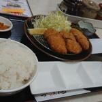 125915829 - 黒豚ヒレカツ定食