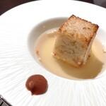 ホテル白菊 - 地鶏スープのリゾット風