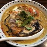 らー麺 あけどや - スパイシー胡麻味噌カリー麺