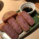 Niwakayachousuke - ハムカツ、超厚切り