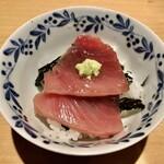 赤坂 あきちゃん - ヨコワの漬け丼