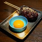 博多野菜巻き串焼き ここにこんね - ☆牛肉100%つくね串(^^)/☆