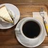 チャーリーズ - ドリンク写真:コーヒーとチーズケーキを頂きました