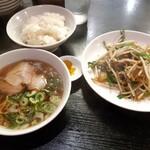都飯店 - 料理写真:ニラレバ定食