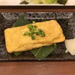 神田餃子居酒屋WARASHIBE GYOZA - 明太出汁巻き玉子