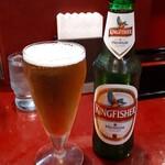 ビハニ - インドビール(キングフィッシャー) 500円