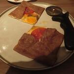 125936592 - ガレット(蕎麦粉のクレープ)