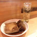 博多のおでん - 料理写真:『豆腐&糸こんにゃく』しゃんにシュワシュワたい♪